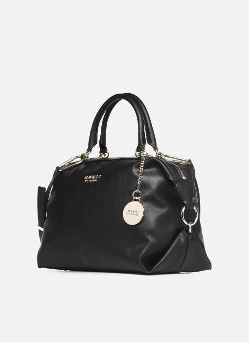Handtaschen Guess CARRY SATCHEL schwarz schuhe getragen