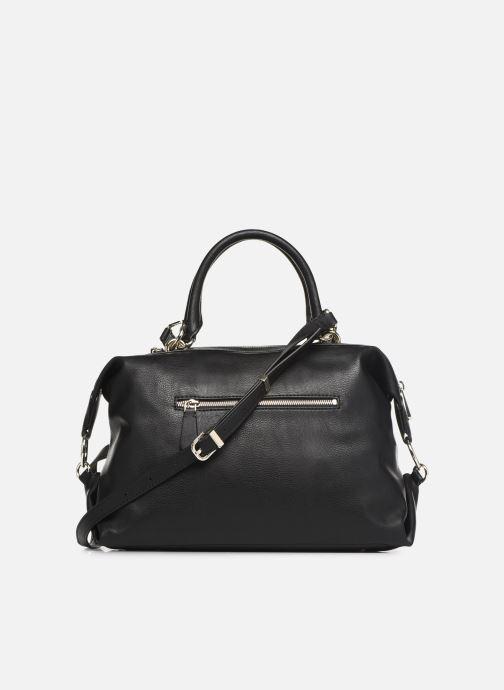 Handväskor Guess CARRY SATCHEL Svart bild från framsidan