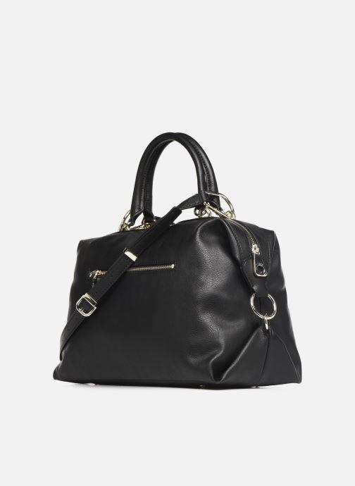 Handtaschen Guess CARRY SATCHEL schwarz ansicht von rechts