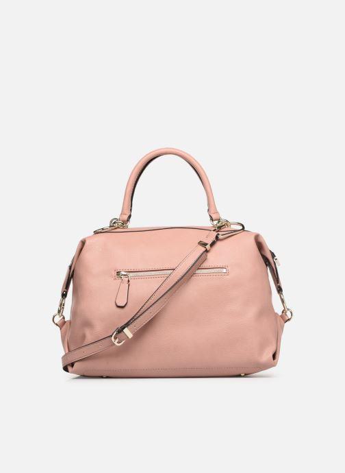 Handtassen Guess CARRY SATCHEL Roze voorkant