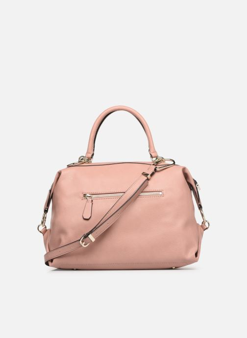 Handbags Guess CARRY SATCHEL Pink front view
