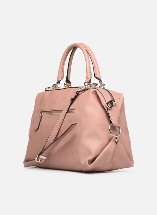 Handbags Guess CARRY SATCHEL Pink view from the right