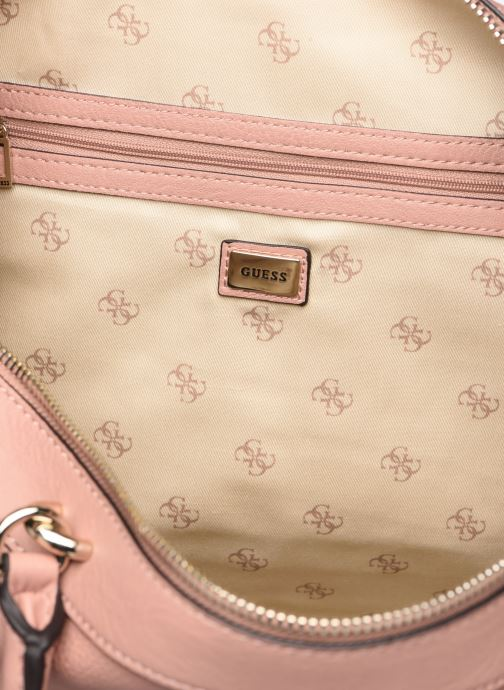 Handbags Guess CARRY SATCHEL Pink view from the left