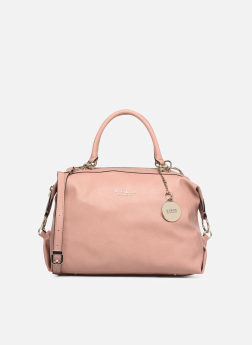 Handbags Guess CARRY SATCHEL Pink detailed view/ Pair view