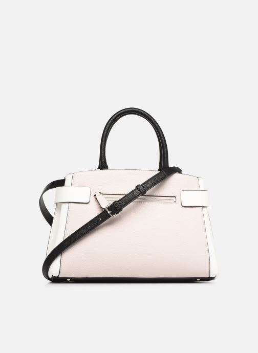 Sacs à main Guess COLETTE GIRLFRIEND SATCHEL Rose vue face