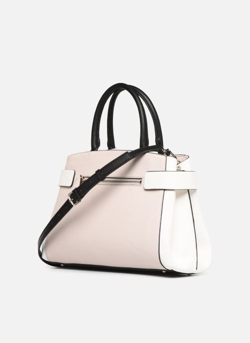 Sacs à main Guess COLETTE GIRLFRIEND SATCHEL Rose vue droite