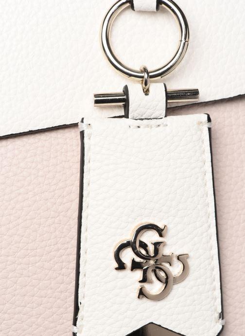 Handväskor Guess COLETTE GIRLFRIEND SATCHEL Rosa bild från vänster sidan