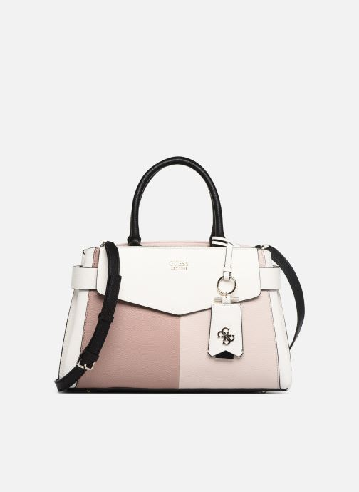 Sacs à main Guess COLETTE GIRLFRIEND SATCHEL Rose vue détail/paire