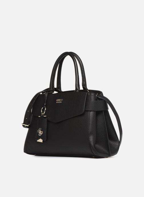Handtaschen Guess COLETTE SATCHEL schwarz schuhe getragen