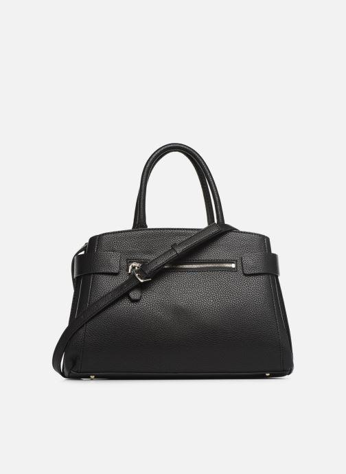 Handtaschen Guess COLETTE SATCHEL schwarz ansicht von vorne