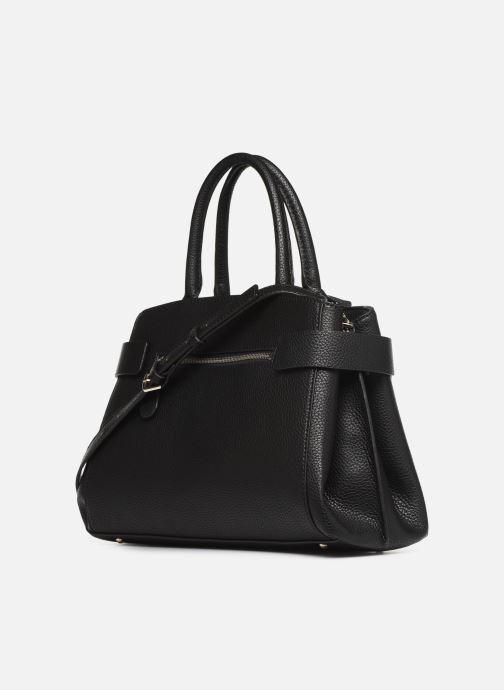 Handtaschen Guess COLETTE SATCHEL schwarz ansicht von rechts
