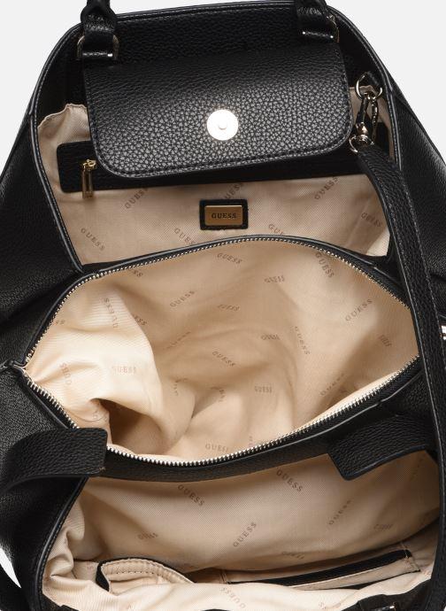 Handtaschen Guess COLETTE SATCHEL schwarz ansicht von hinten