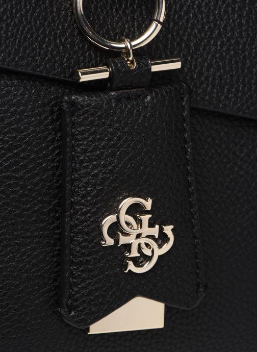 Handtaschen Guess COLETTE SATCHEL schwarz ansicht von links