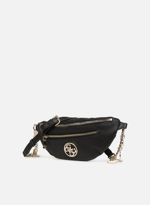 Portemonnaies & Clutches Guess DETAIL BELT BAG schwarz schuhe getragen