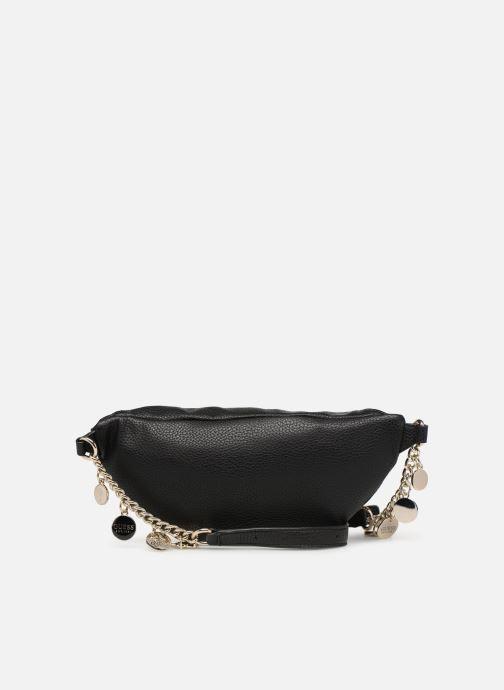 Portemonnaies & Clutches Guess DETAIL BELT BAG schwarz ansicht von vorne