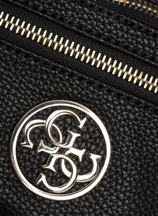 Portemonnaies & Clutches Guess DETAIL BELT BAG schwarz ansicht von links