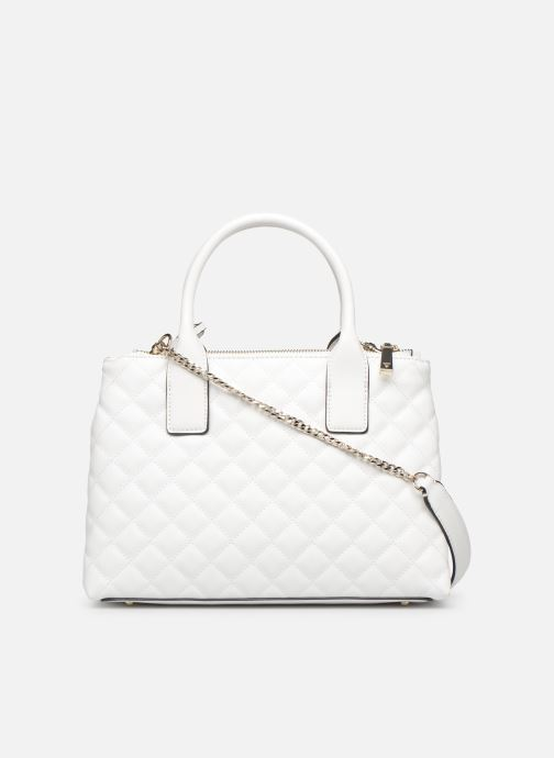 Bolsos de mano Guess ELLIANA STATUS SATCHEL Blanco vista de frente