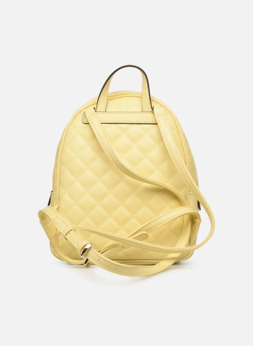 Mochilas Guess ELLIANA MINI BACKPACK Amarillo vista de frente