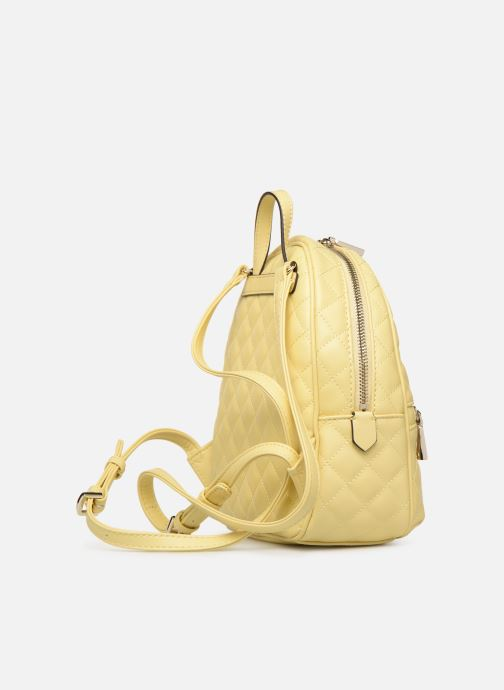 Rucksacks Guess ELLIANA MINI BACKPACK Yellow view from the right