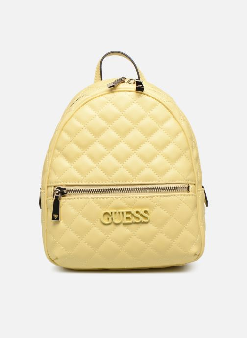 Mochilas Guess ELLIANA MINI BACKPACK Amarillo vista de detalle / par
