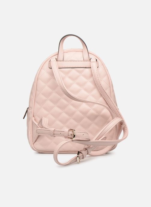 Rucksacks Guess ELLIANA MINI BACKPACK Pink front view