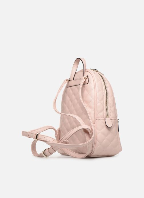 Rucksacks Guess ELLIANA MINI BACKPACK Pink view from the right