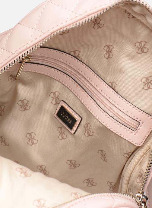 Rucksäcke Guess ELLIANA MINI BACKPACK rosa ansicht von hinten
