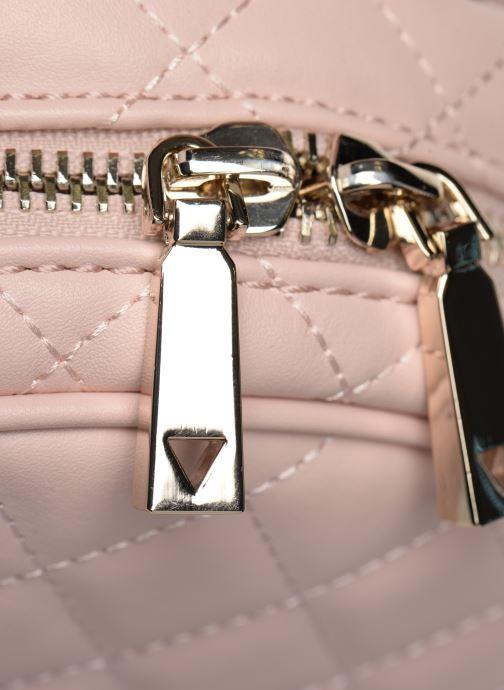 Rucksäcke Guess ELLIANA MINI BACKPACK rosa ansicht von links
