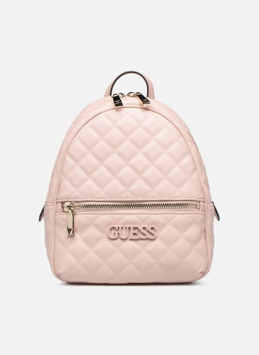 Rucksacks Guess ELLIANA MINI BACKPACK Pink detailed view/ Pair view