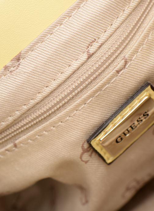 Handtassen Guess ELLIANA MINI CROSSBODY FLAP Geel achterkant