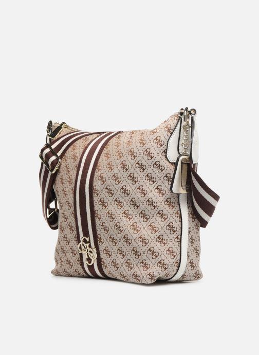 Handbags Guess GUESS VINTAGE HOBO Beige model view