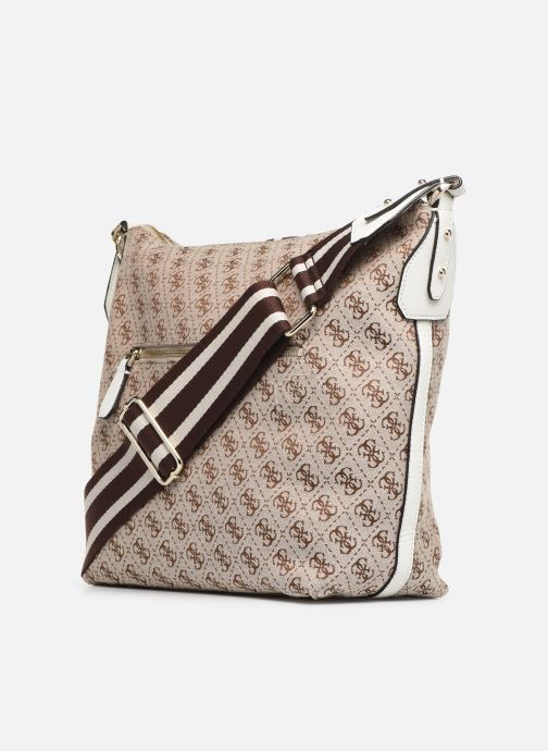 Handbags Guess GUESS VINTAGE HOBO Beige view from the right