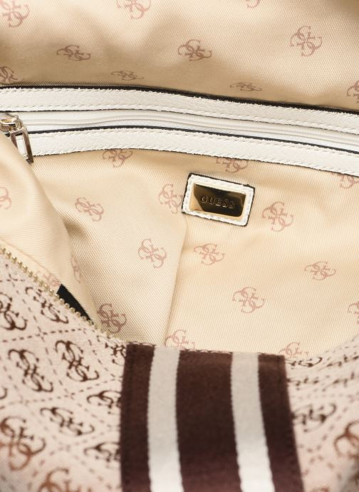 Handbags Guess GUESS VINTAGE HOBO Beige back view