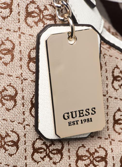 Bolsos de mano Guess GUESS VINTAGE HOBO Beige vista lateral izquierda