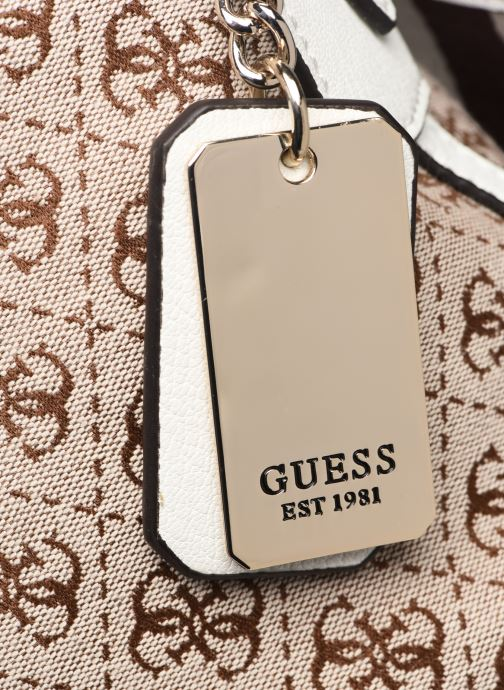 Handbags Guess GUESS VINTAGE HOBO Beige view from the left