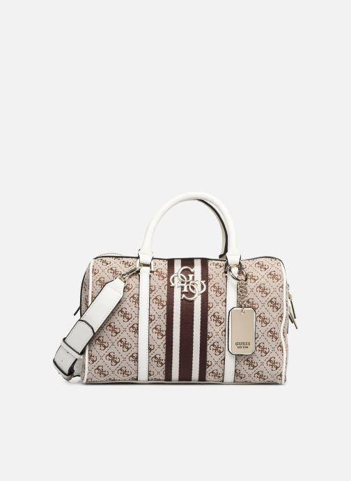 Handtaschen Guess GUESS VINTAGE BOX SATCHEL beige detaillierte ansicht/modell