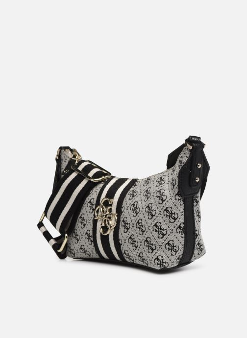 Sacs à main Guess GUESS VINTAGE SHOULDER BAG Noir vue portées chaussures