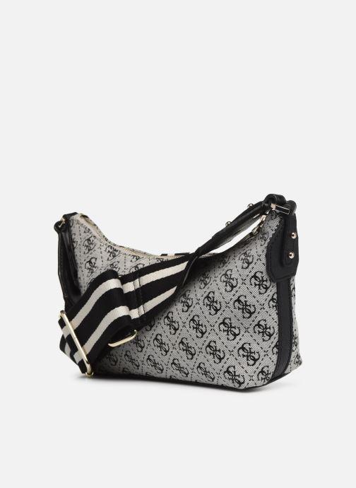 Handtaschen Guess GUESS VINTAGE SHOULDER BAG schwarz ansicht von rechts