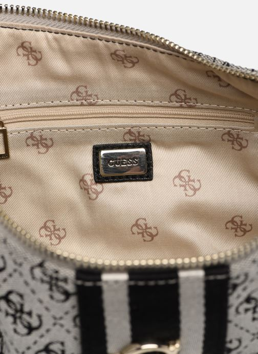 Handtaschen Guess GUESS VINTAGE SHOULDER BAG schwarz ansicht von hinten