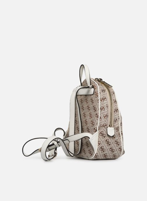 Mochilas Guess GUESS VINTAGE MINI BACKPACK Beige vista lateral derecha