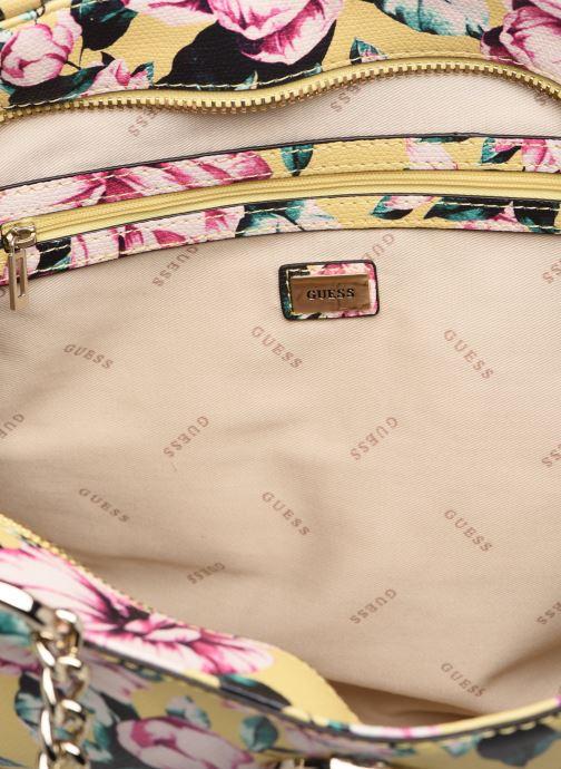 Handbags Guess LANDON TOTE ZIP Yellow back view