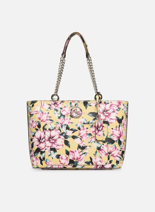 Handbags Guess LANDON TOTE ZIP Yellow detailed view/ Pair view