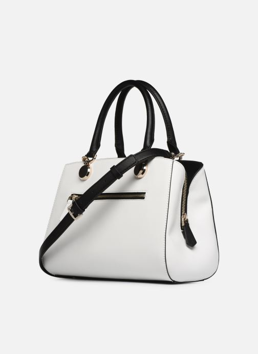 Bolsos de mano Guess LANDON DOME SATCHEL Blanco vista lateral derecha