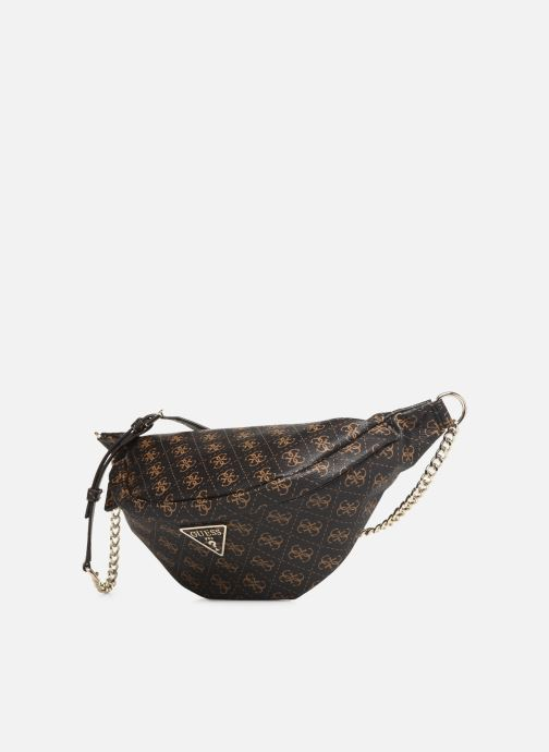 Portemonnaies & Clutches Guess LEEZA LARGE BELT BAG braun schuhe getragen