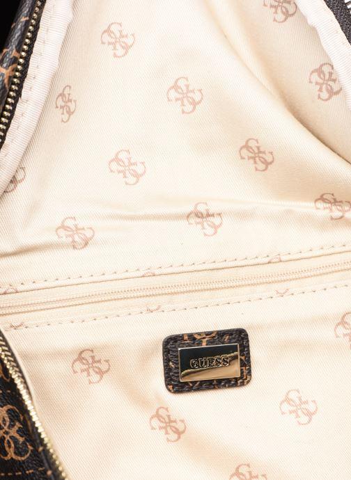 Portemonnaies & Clutches Guess LEEZA LARGE BELT BAG braun ansicht von hinten
