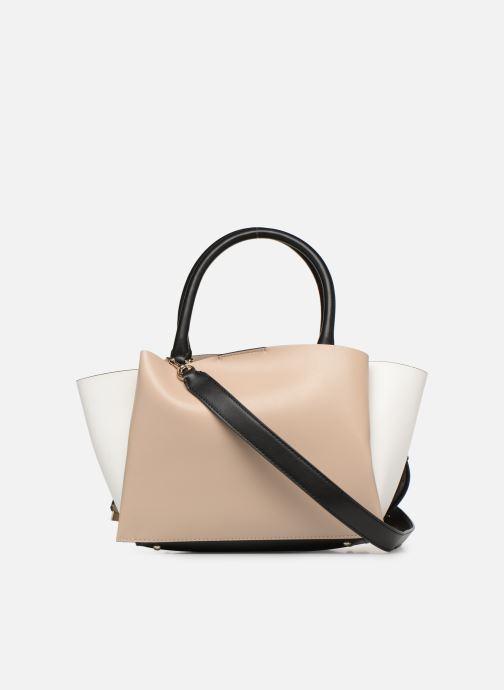 Handtaschen Guess LENIA GIRLFIEND SATCHEL rosa ansicht von vorne