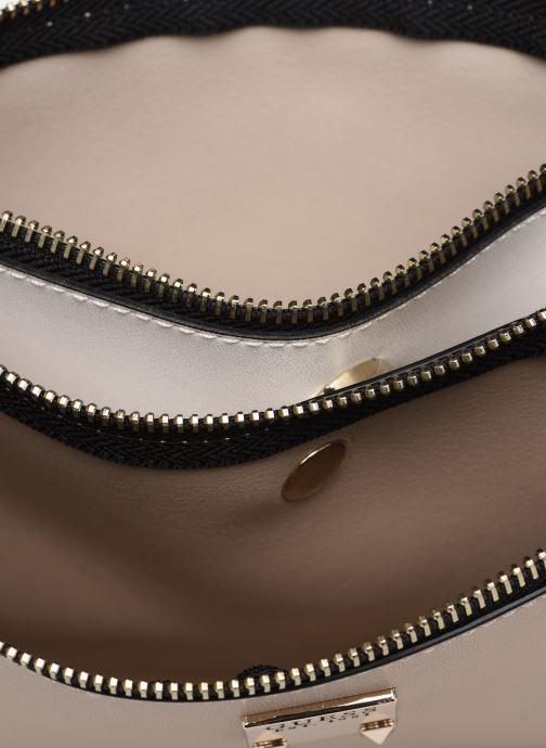 Borse Guess LENIA MINI DOUBLE ZIP CROSSBODY Bianco immagine posteriore