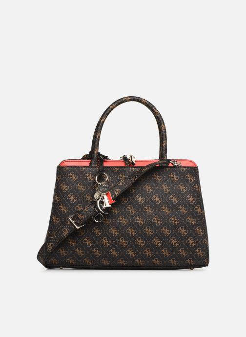 Handtaschen Guess MADDY GIRLFRIEND SATCHEL braun ansicht von vorne