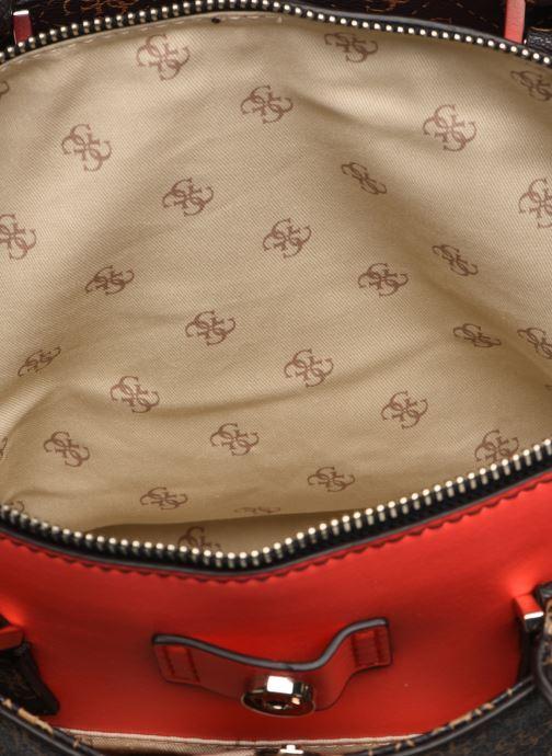 Handtaschen Guess MADDY GIRLFRIEND SATCHEL braun ansicht von hinten