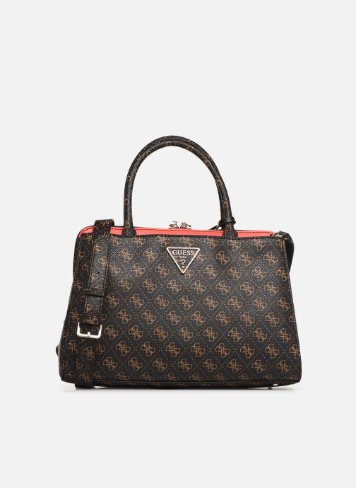 Handtaschen Guess MADDY GIRLFRIEND SATCHEL braun detaillierte ansicht/modell